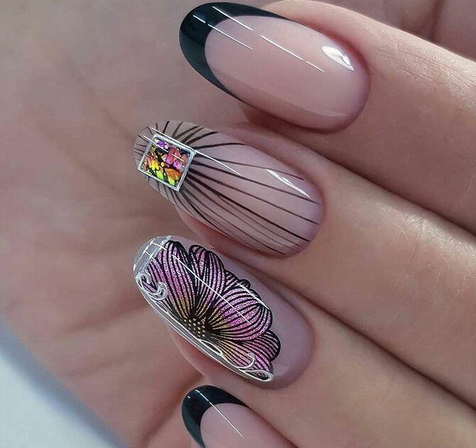 Павутинка на нігтях: ефектні дизайни 2020–2021 32