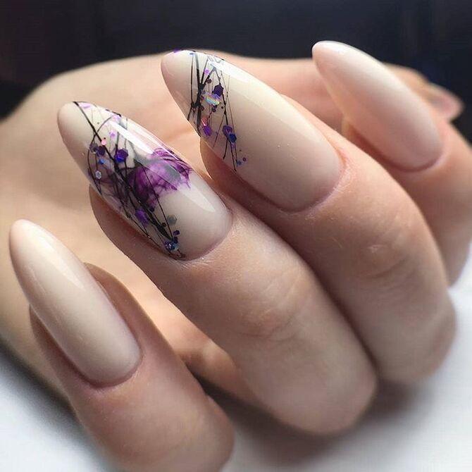 Павутинка на нігтях: ефектні дизайни 2020–2021 33