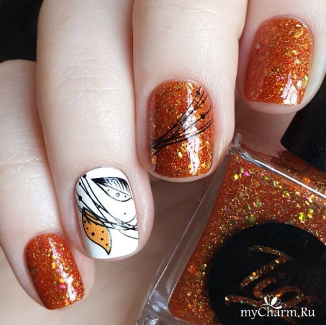 Павутинка на нігтях: ефектні дизайни 2020–2021 34