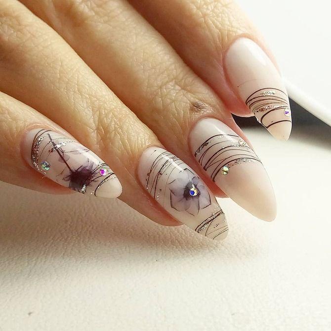 Павутинка на нігтях: ефектні дизайни 2020–2021 35