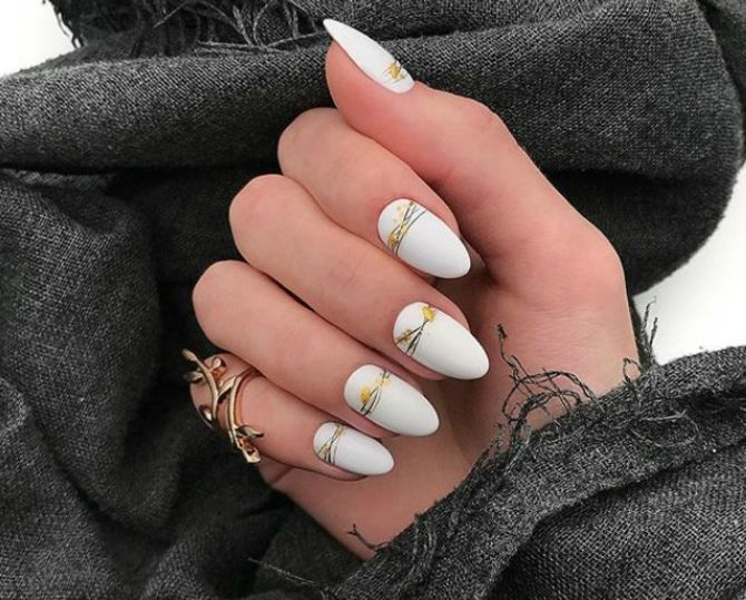 Павутинка на нігтях: ефектні дизайни 2020–2021 36