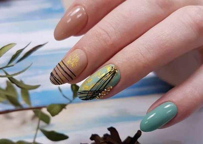 Павутинка на нігтях: ефектні дизайни 2020–2021 40
