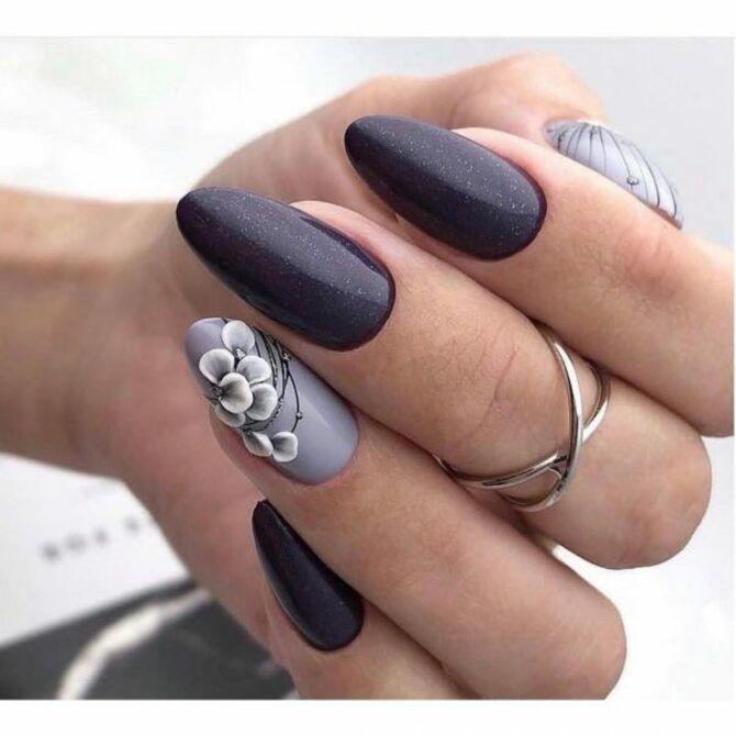 Павутинка на нігтях: ефектні дизайни 2020–2021 42