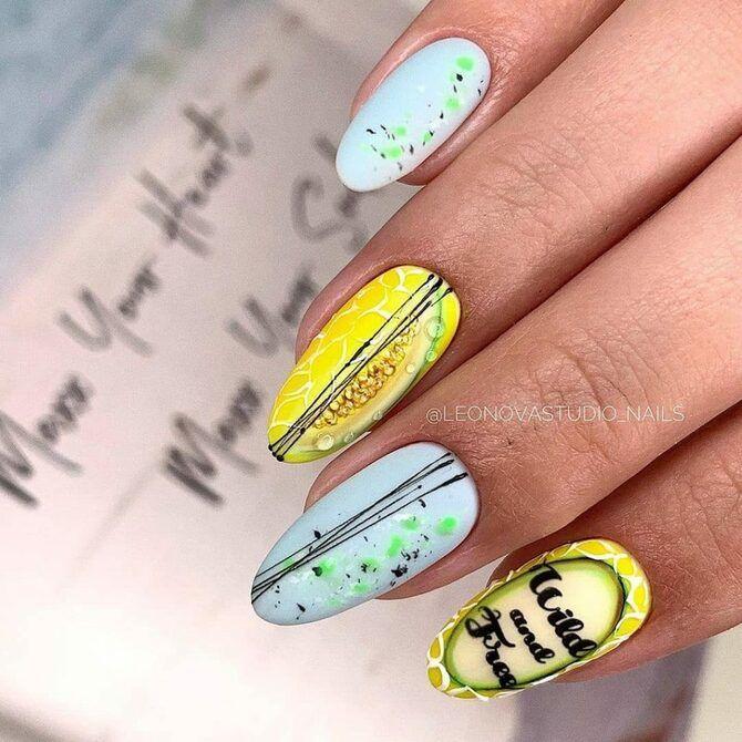 Павутинка на нігтях: ефектні дизайни 2020–2021 44