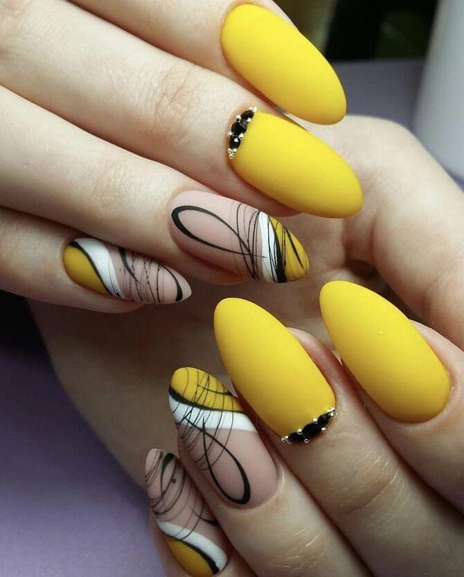 Павутинка на нігтях: ефектні дизайни 2020–2021 47