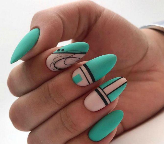 Павутинка на нігтях: ефектні дизайни 2020–2021 46