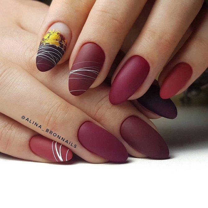 Павутинка на нігтях: ефектні дизайни 2020–2021 50