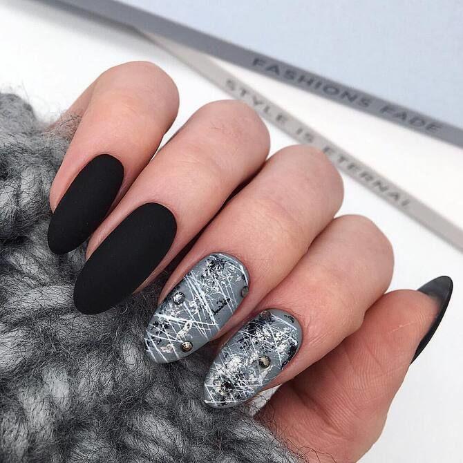 Павутинка на нігтях: ефектні дизайни 2020–2021 52