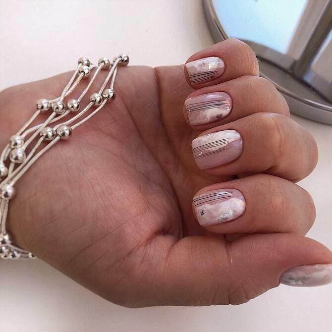 Павутинка на нігтях: ефектні дизайни 2020–2021 6