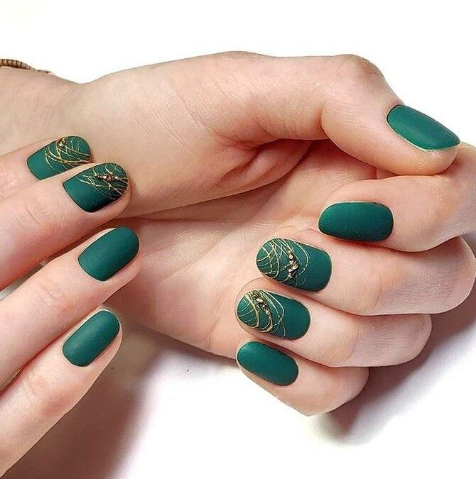 Павутинка на нігтях: ефектні дизайни 2020–2021 60
