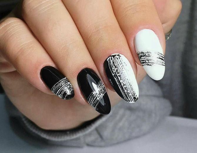 Павутинка на нігтях: ефектні дизайни 2020–2021 63