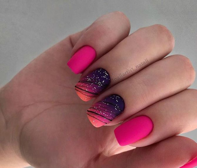 Павутинка на нігтях: ефектні дизайни 2020–2021 64