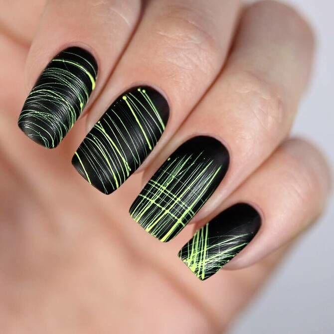 Павутинка на нігтях: ефектні дизайни 2020–2021 66