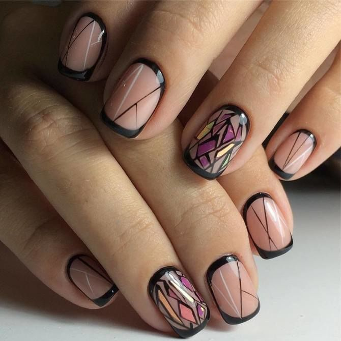 Павутинка на нігтях: ефектні дизайни 2020–2021 67
