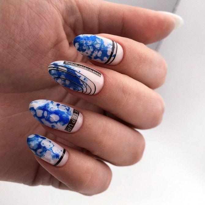 Павутинка на нігтях: ефектні дизайни 2020–2021 68