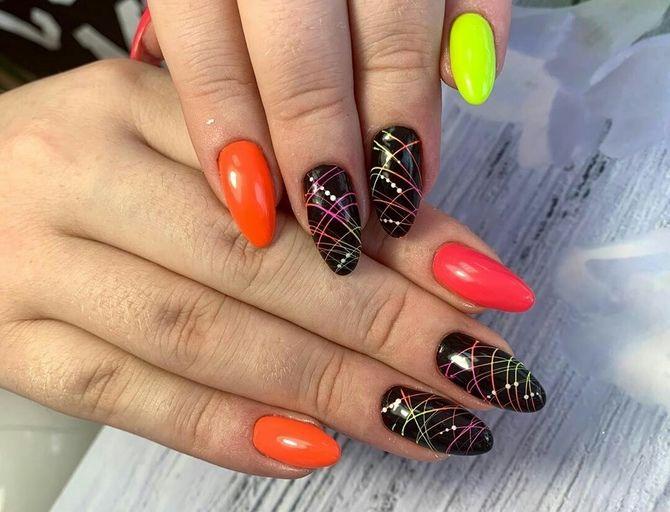 Павутинка на нігтях: ефектні дизайни 2020–2021 69