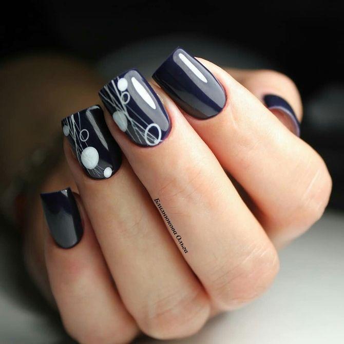 Павутинка на нігтях: ефектні дизайни 2020–2021 70