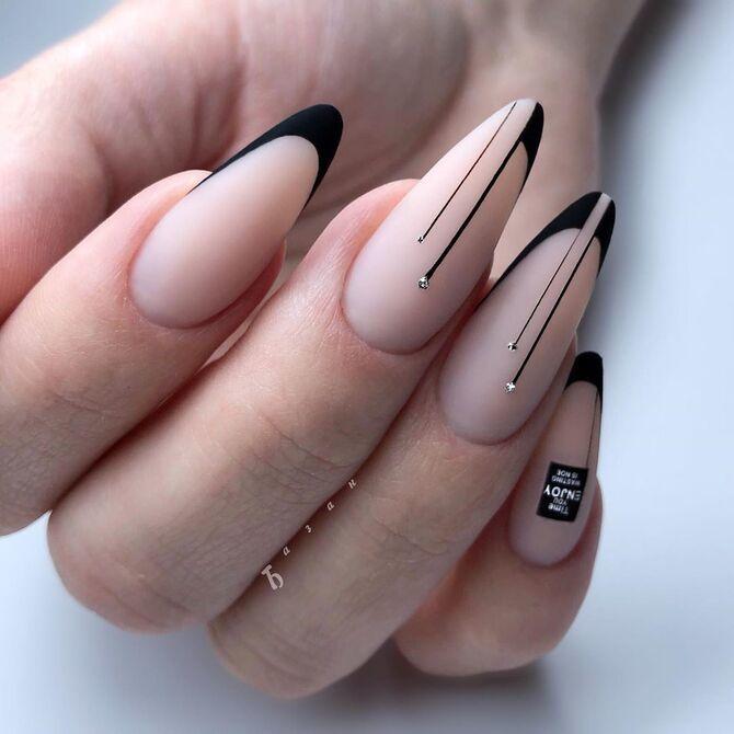 Павутинка на нігтях: ефектні дизайни 2020–2021 9