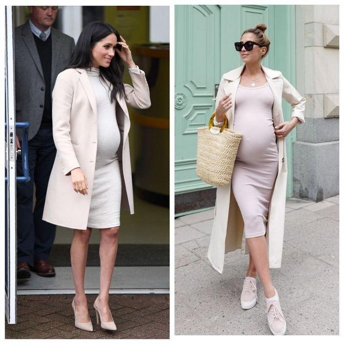 Мода для беременных 2020-2021: фасоны на прохладные сезоны 1