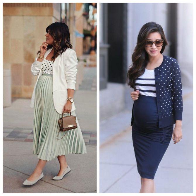 Мода для беременных 2020-2021: фасоны на прохладные сезоны 10