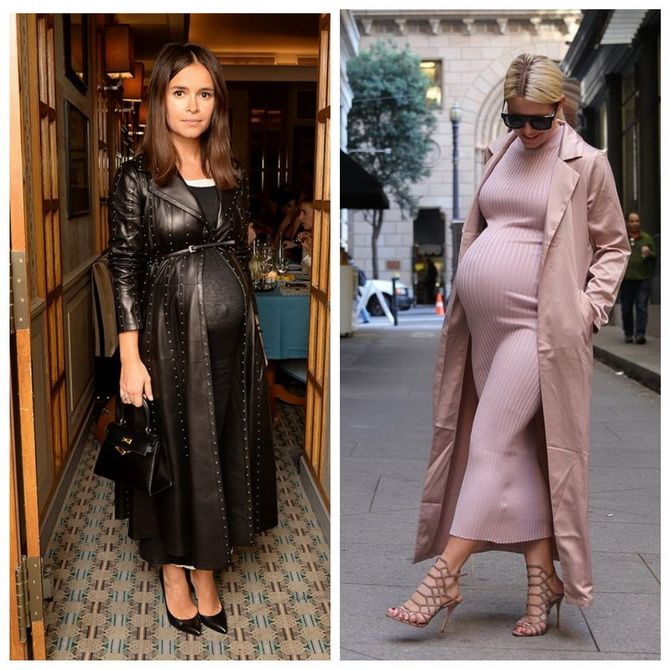 Мода для беременных 2020-2021: фасоны на прохладные сезоны 6