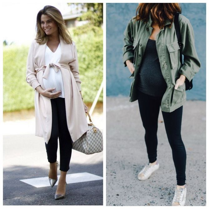 Мода для беременных 2020-2021: фасоны на прохладные сезоны 7