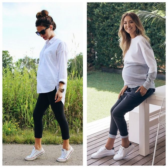Мода для беременных 2020-2021: фасоны на прохладные сезоны 8