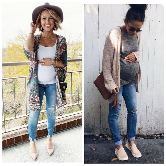 Мода для беременных 2020-2021: фасоны на прохладные сезоны 9