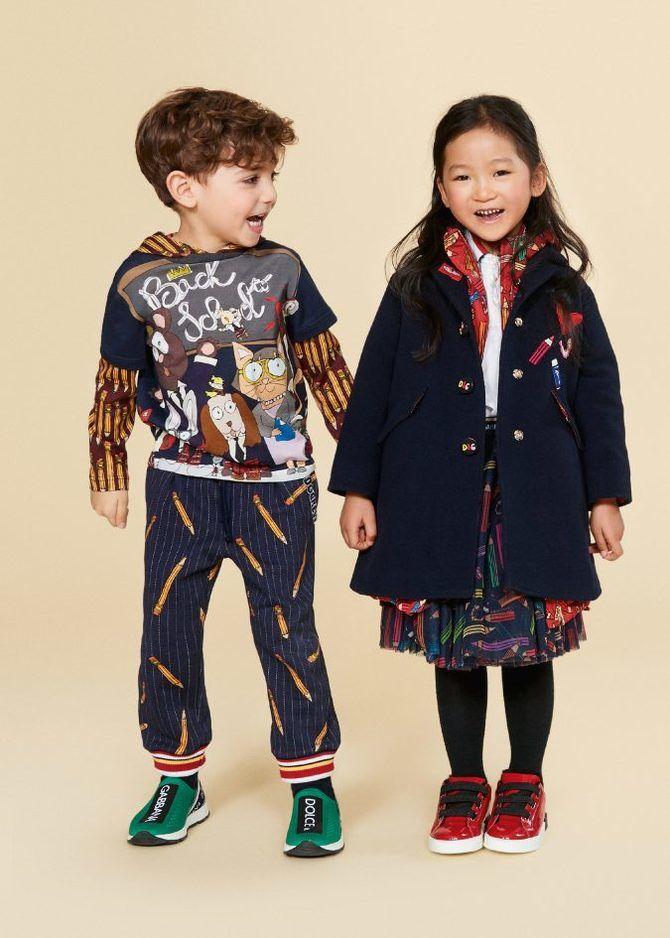 Модная детская одежда Осень/Зима 2020-2021 34