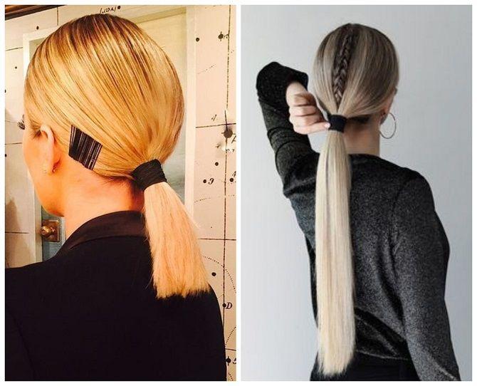 Низький хвіст – кращі ідеї зачіски для повсякденного і вечірнього образу 1
