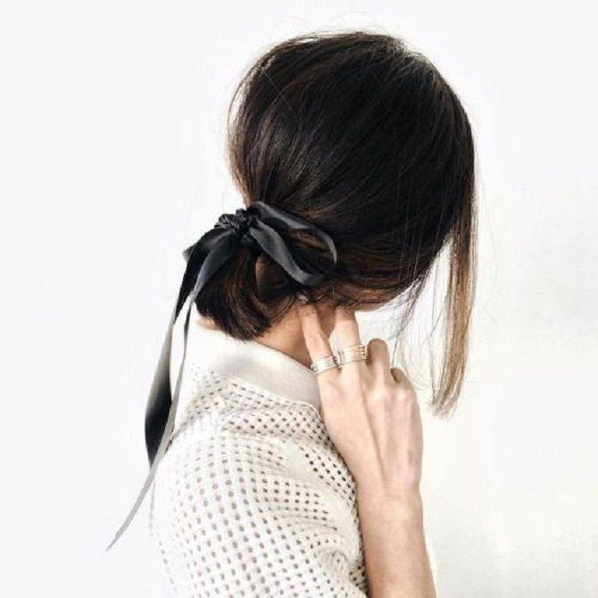 Низький хвіст – кращі ідеї зачіски для повсякденного і вечірнього образу 3