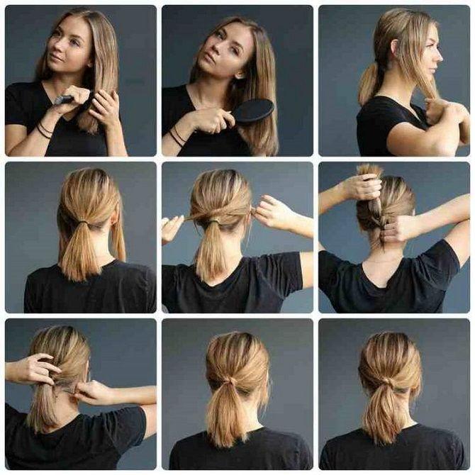 Низький хвіст – кращі ідеї зачіски для повсякденного і вечірнього образу 5