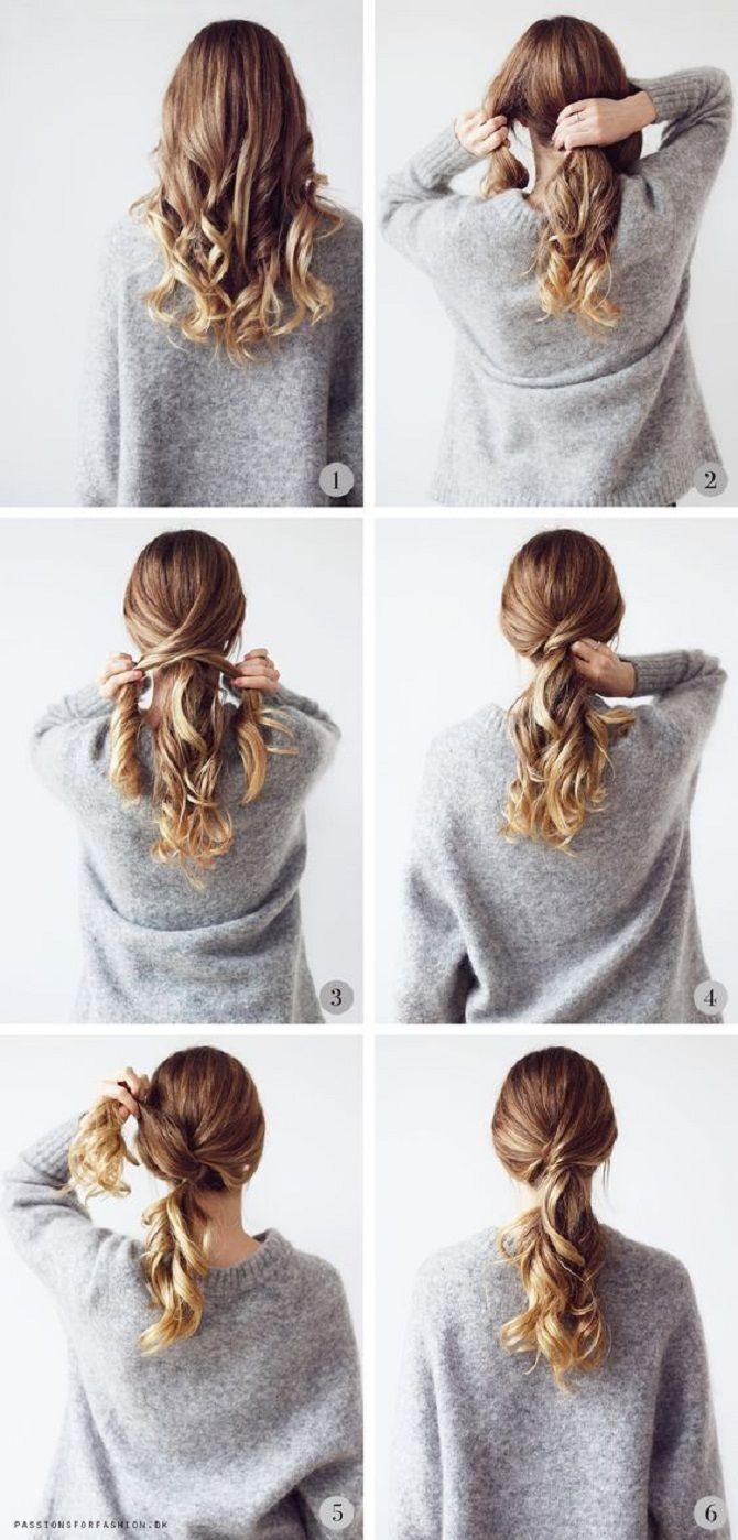 Низький хвіст – кращі ідеї зачіски для повсякденного і вечірнього образу 6
