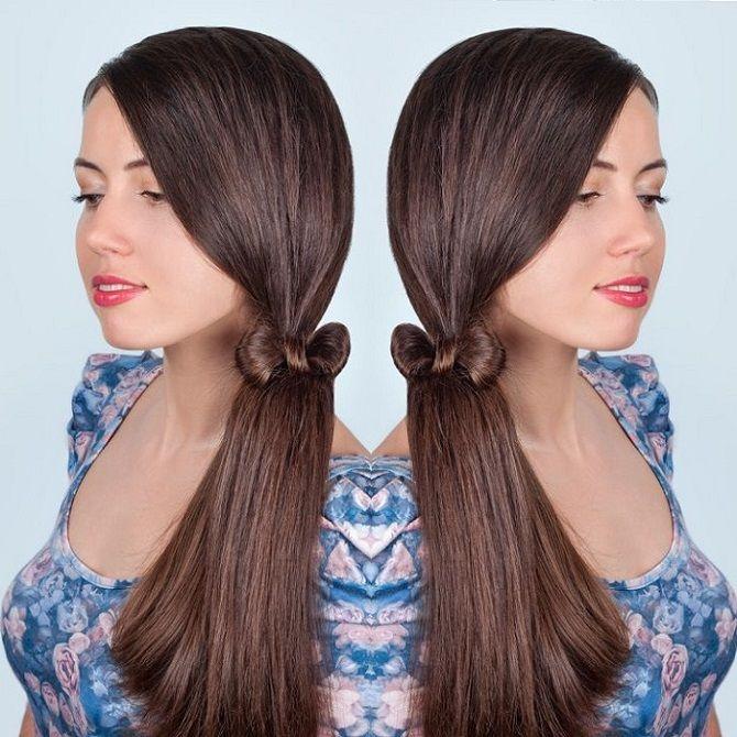 Низький хвіст – кращі ідеї зачіски для повсякденного і вечірнього образу 8