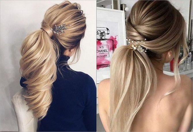 Низький хвіст – кращі ідеї зачіски для повсякденного і вечірнього образу 11
