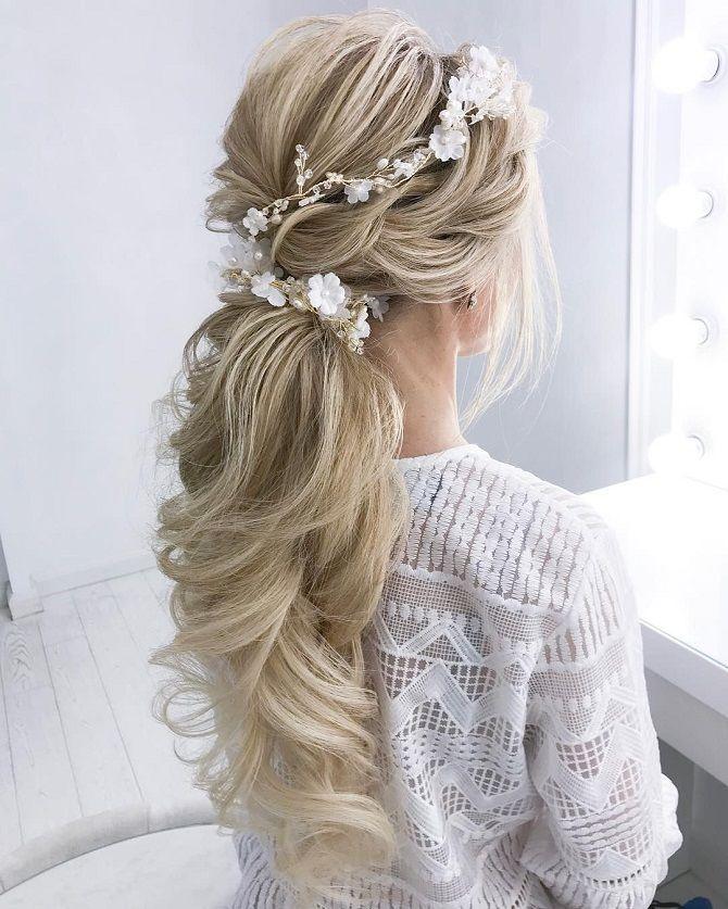 Низький хвіст – кращі ідеї зачіски для повсякденного і вечірнього образу 13