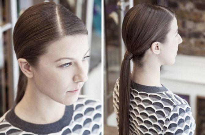 Низький хвіст – кращі ідеї зачіски для повсякденного і вечірнього образу 14