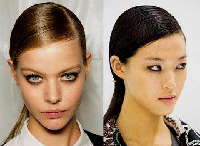 Низький хвіст – кращі ідеї зачіски для повсякденного і вечірнього образу 15