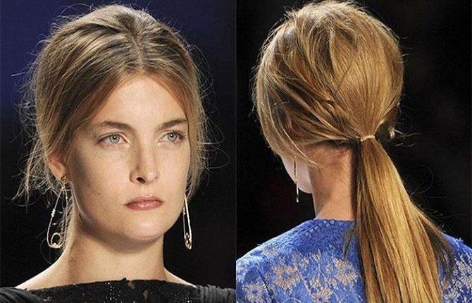 Низький хвіст – кращі ідеї зачіски для повсякденного і вечірнього образу 18