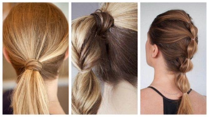 Низький хвіст – кращі ідеї зачіски для повсякденного і вечірнього образу 22