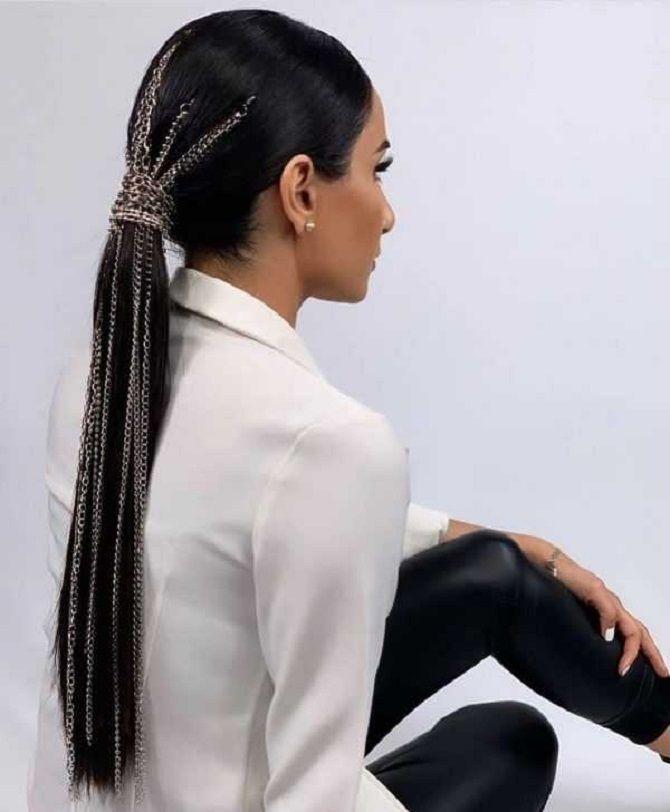 Низький хвіст – кращі ідеї зачіски для повсякденного і вечірнього образу 23