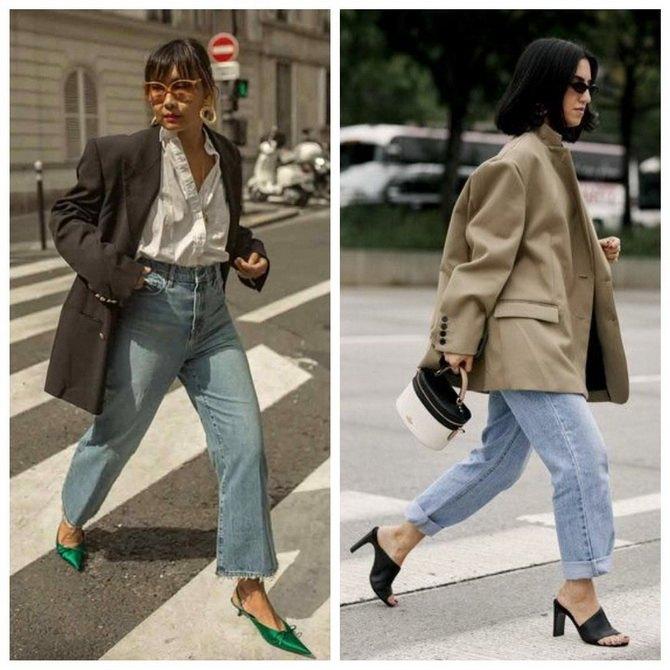 Идеи образов с голубыми джинсами, которые не выйдут из моды 8