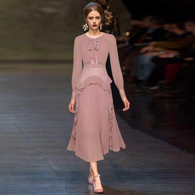 Модні сукні з довгим рукавом 2020-2021 1