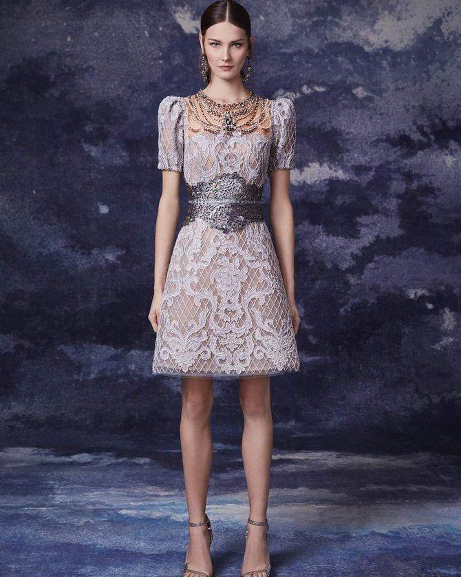 Модні сукні з довгим рукавом 2020-2021 12