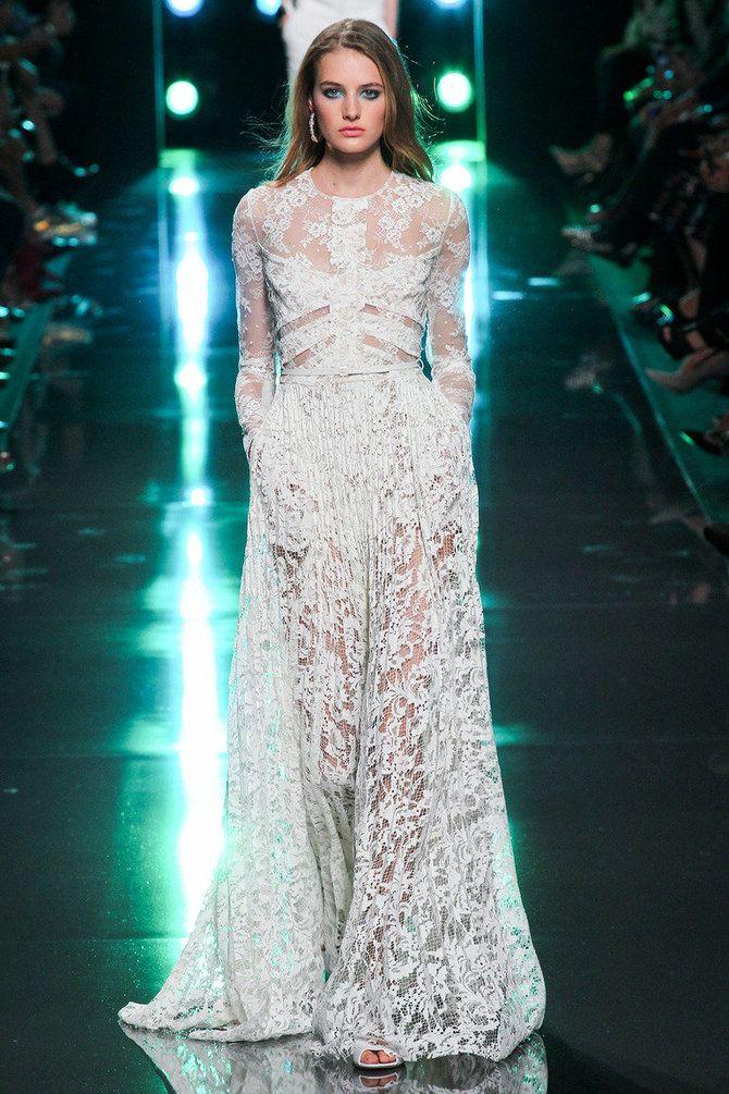 Модні сукні з довгим рукавом 2020-2021 13