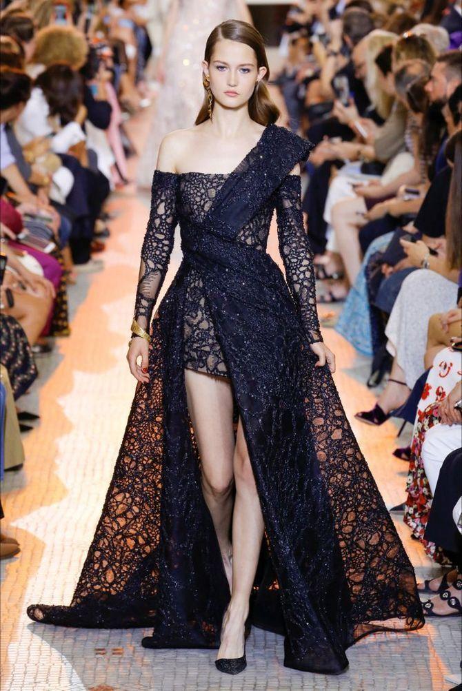 Модні сукні з довгим рукавом 2020-2021 14