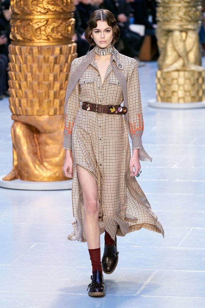 Модні сукні з довгим рукавом 2020-2021 16