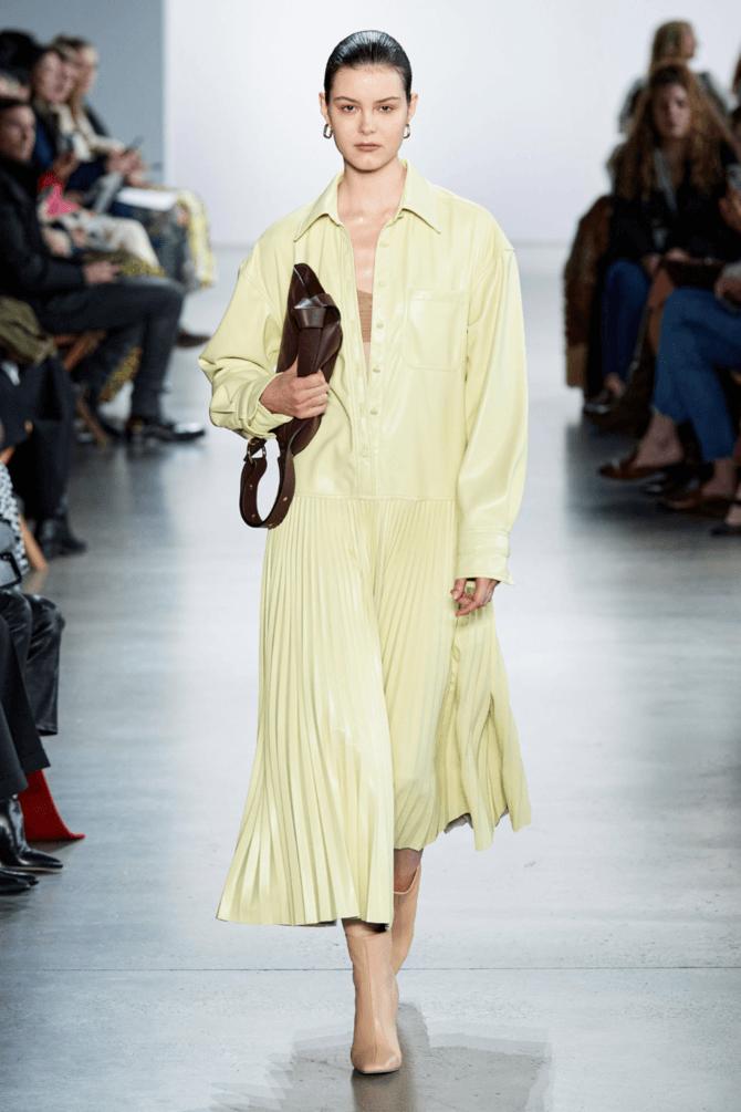 Модні сукні з довгим рукавом 2020-2021 18