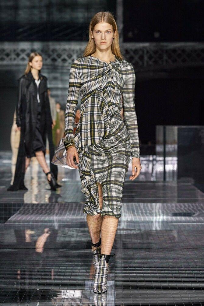 Модні сукні з довгим рукавом 2020-2021 21