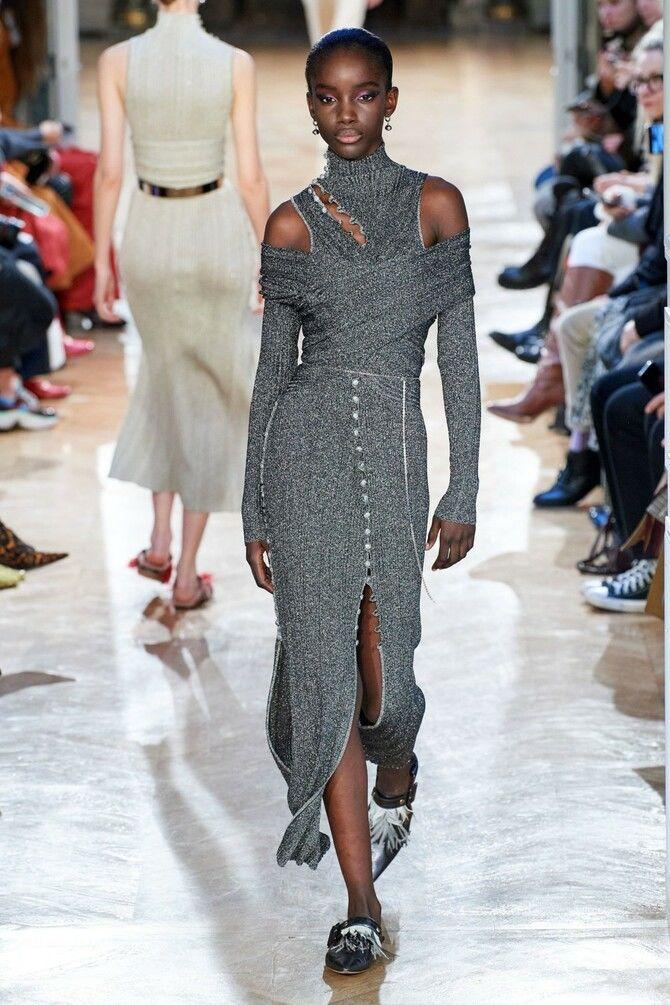 Модні сукні з довгим рукавом 2020-2021 24